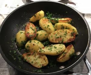 Petersilienkartoffeln