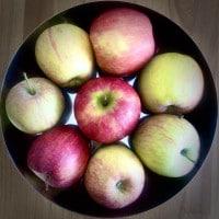 Äpfel für tarte tatin