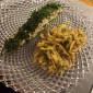 Lachs im Kräutermantel mit Fenchelgemüse