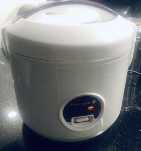 Unser Reiskocher