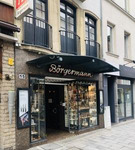 Laden-Fassade Börgermann