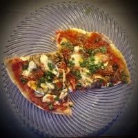 Pizza con tuttohausgemacht