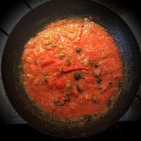 Tomazen-Soße für Spaghetti