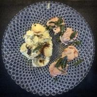 Saltimbocca serviert auf dem Teller