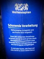 Weihenstephan-Sahne Produktinformation