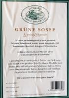 Etikett Kräuter für grüne Soße