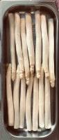 Spargel geschält für Dampfgarer