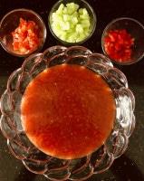 Gazpacho Andaluz mit Einlagen