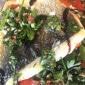 Wolfsbarschfilet in Kräutermarinade mit Tomaten