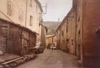 Straße in Soleilhas