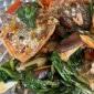 Lachsfilets mit Teriyaki Gemüse